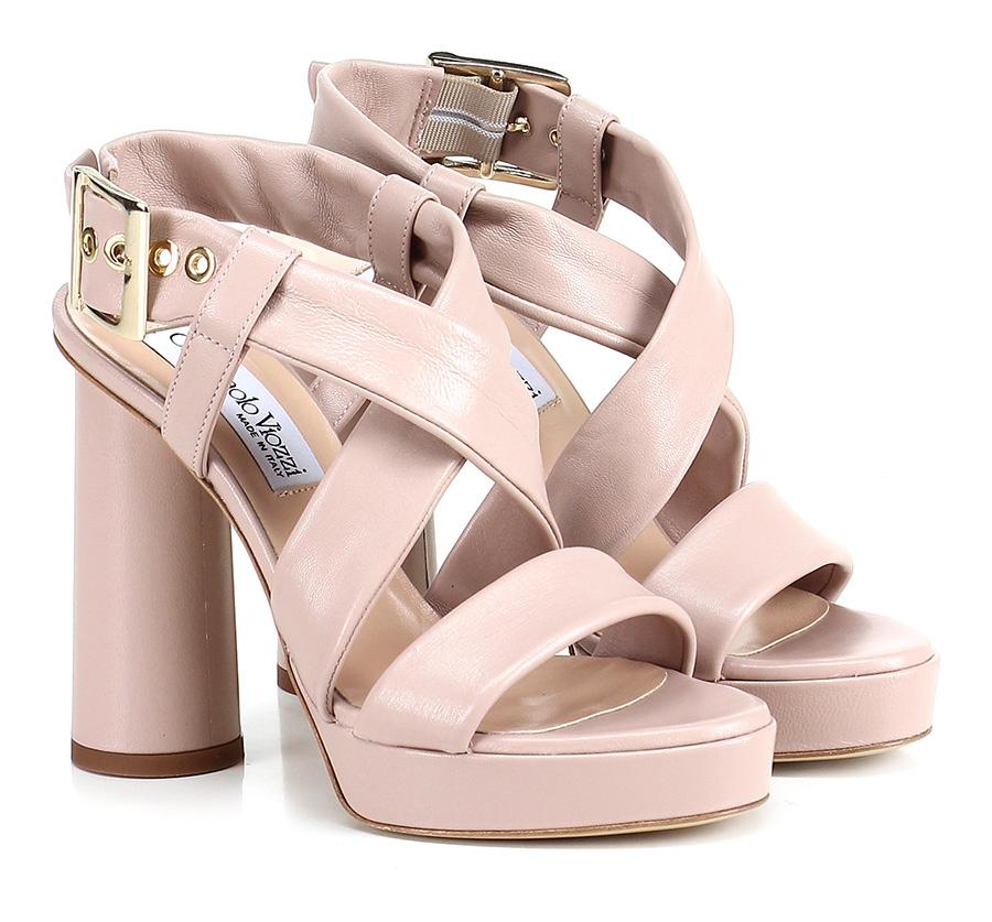 Sandalo Cipria alto Cipria Sandalo Giampaolo Viozzi Mode billige Schuhe 11b9a4
