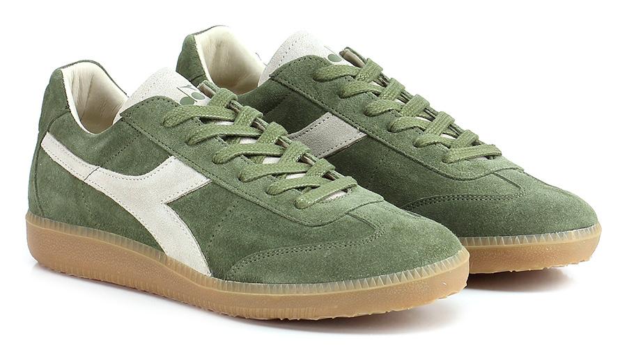 Sneaker Green Diadora Heritage Verschleißfeste billige Schuhe