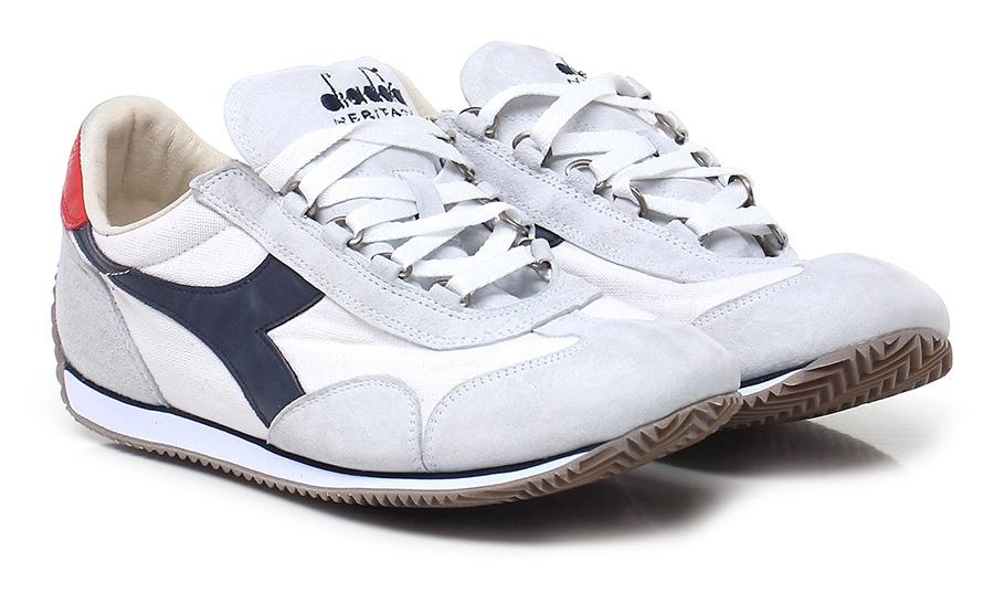 Sneaker White/ice/blue Diadora Heritage Verschleißfeste billige Schuhe