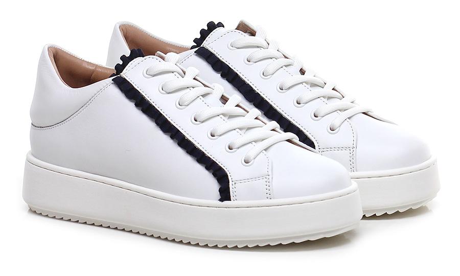 Sneaker Bianco/nero Qualität Twinset My Twin Hohe Qualität Bianco/nero 3b0555