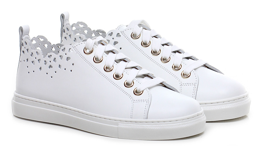 Sneaker Bianco Twinset My Twin Mode billige Schuhe