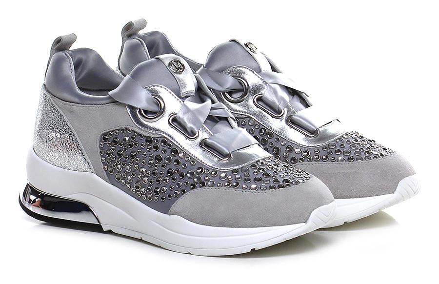 Sneaker Argento/tortora Liu.jo Verschleißfeste billige Schuhe