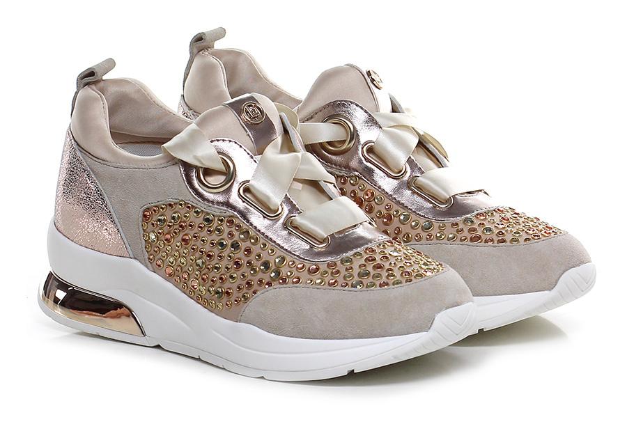 Sneaker Sabbia/rosa Liu.jo Verschleißfeste billige Schuhe