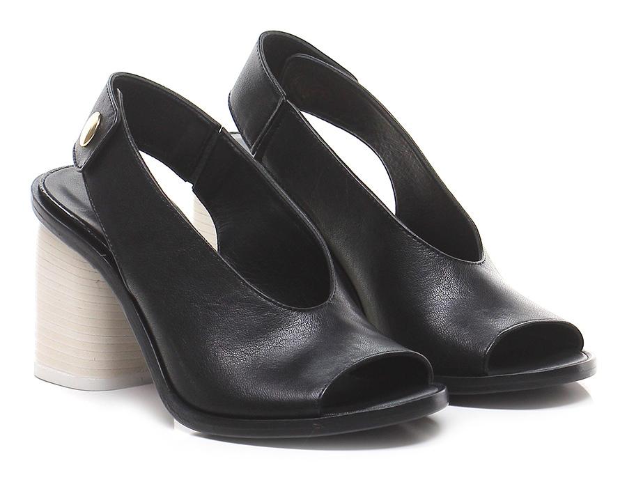 Sandalo alto  Nero/bianco Lemare Lemare Lemare 4fa293