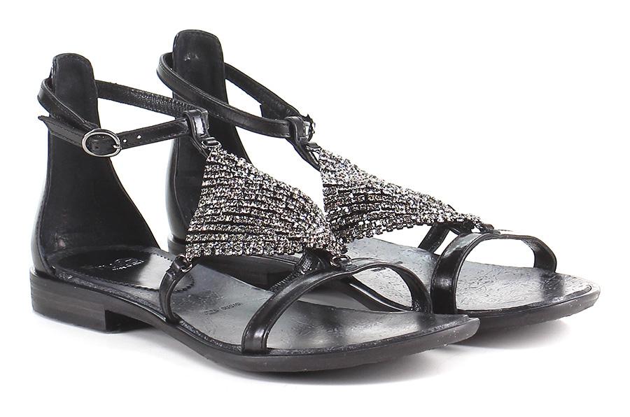 Sandalo basso Nero Fruit Verschleißfeste billige Schuhe