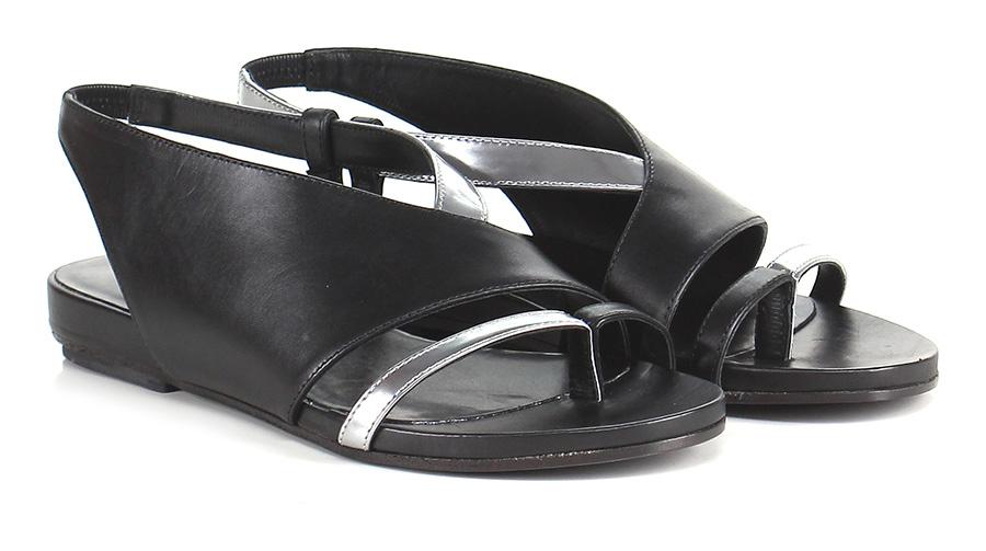 Sandalo basso Black/silver Black/silver Black/silver Vic Matiè 3f9ea3
