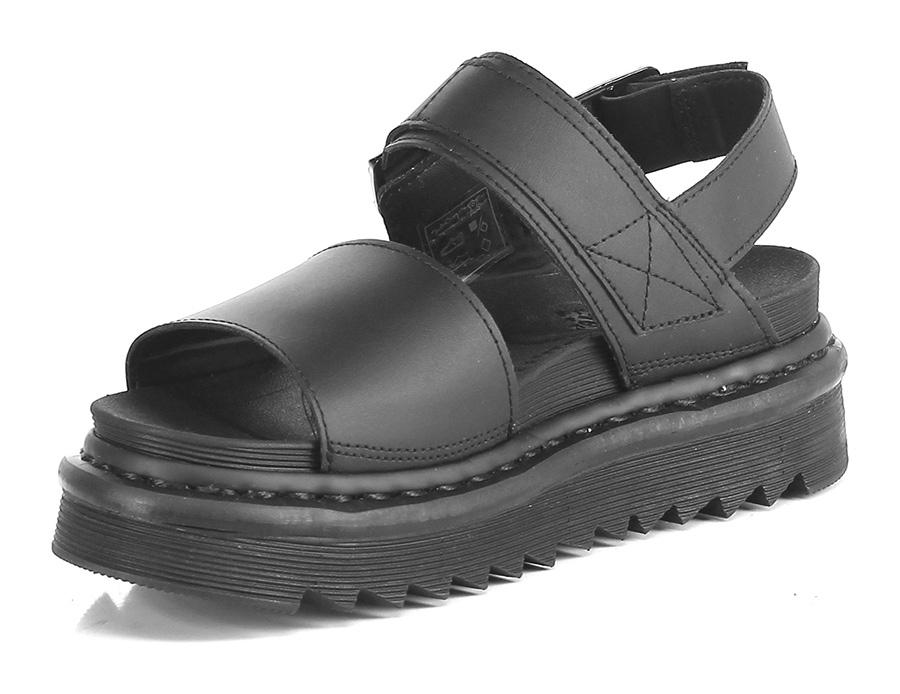 Sandalo basso Black Dr. Martens Qualität Hohe Qualität Martens 6b22ed