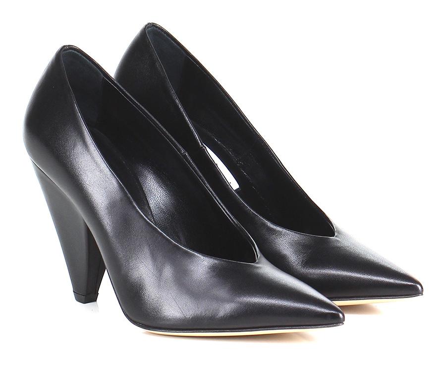Decolletè Nero Giampaolo Viozzi Mode billige Schuhe