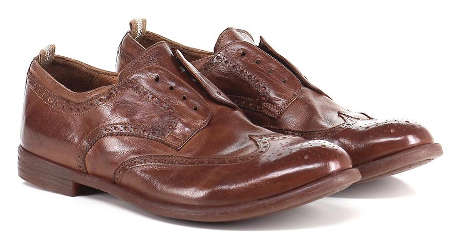 Senza stringhe Cuoio Officine Creative Mode billige Schuhe