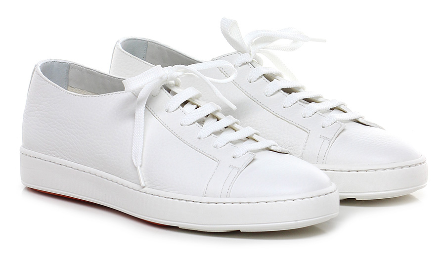 Sneaker Bianco Santoni