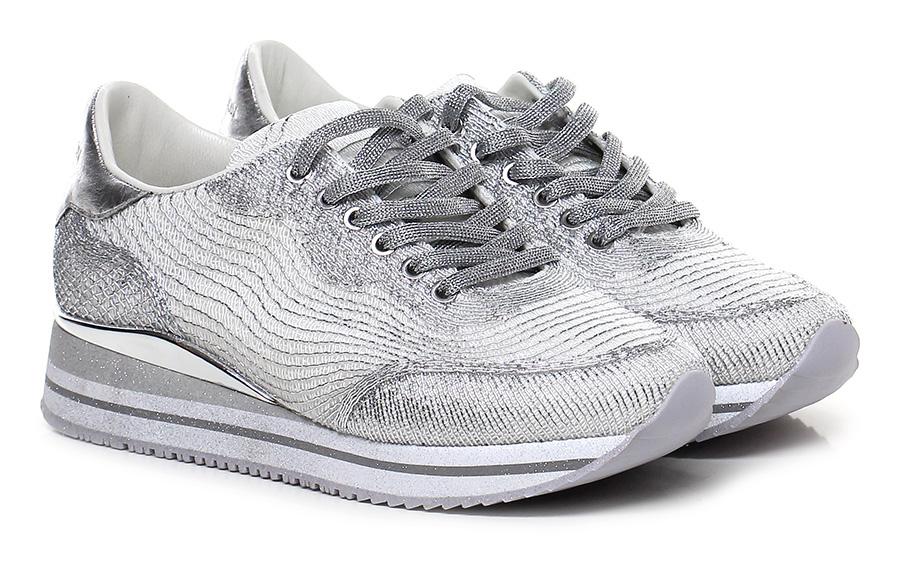 Sneaker White/silver Crime Verschleißfeste billige Schuhe