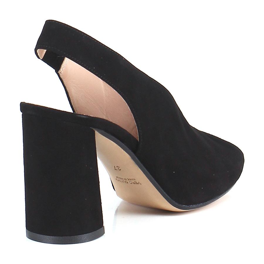 Sandalo alto Nero Gisele billige Paris Mode billige Gisele Schuhe 9d8516