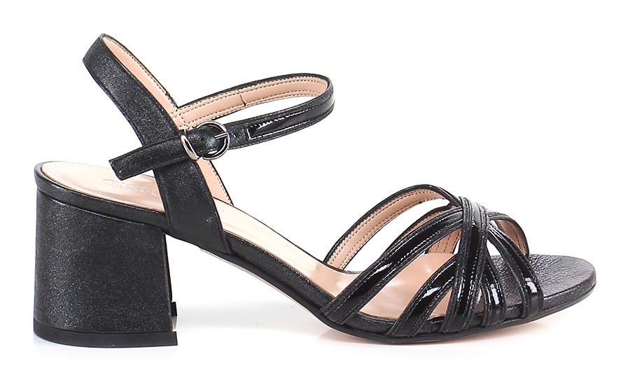 Sandalo alto Gisele Nero Gisele alto Paris Hohe Qualität 9a63b8