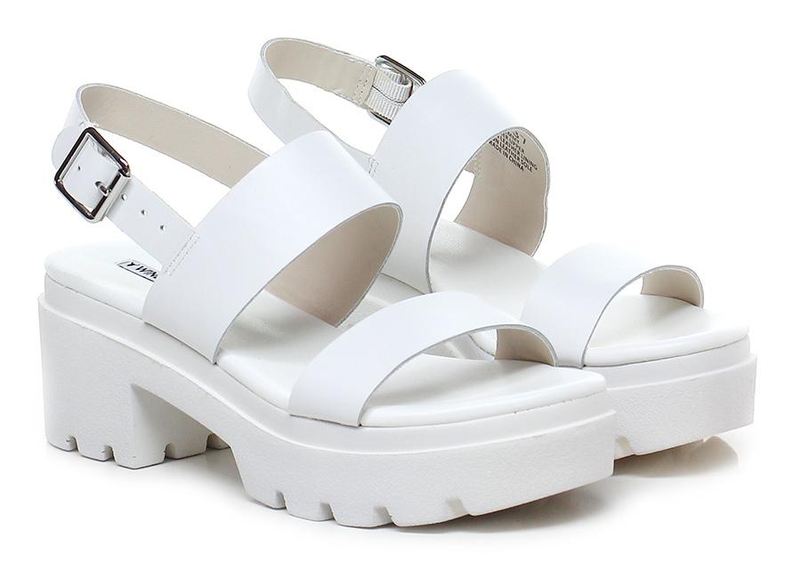 Sandalo alto White Windsor Smith Hohe Qualität