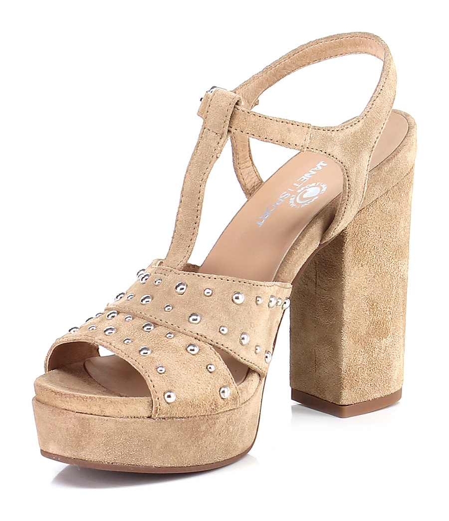 Sandalo alto  Cammello Janet Janet Cammello Sport 8444e3