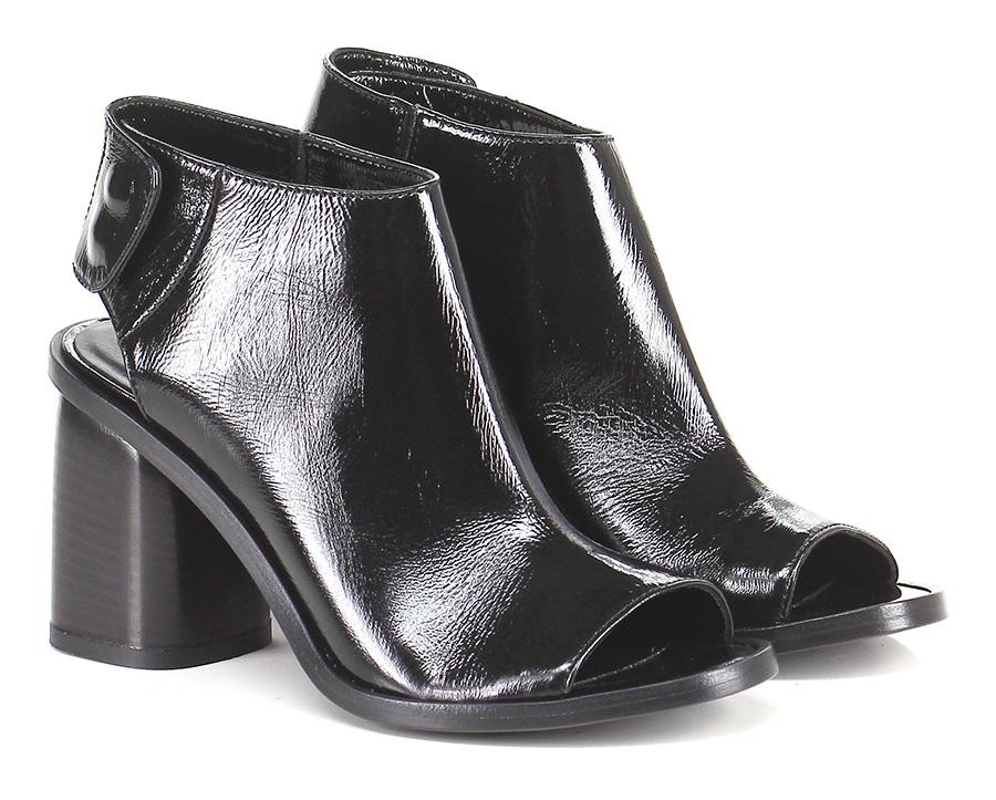Scarpa con tacco Nero Lemare' Mode billige Schuhe