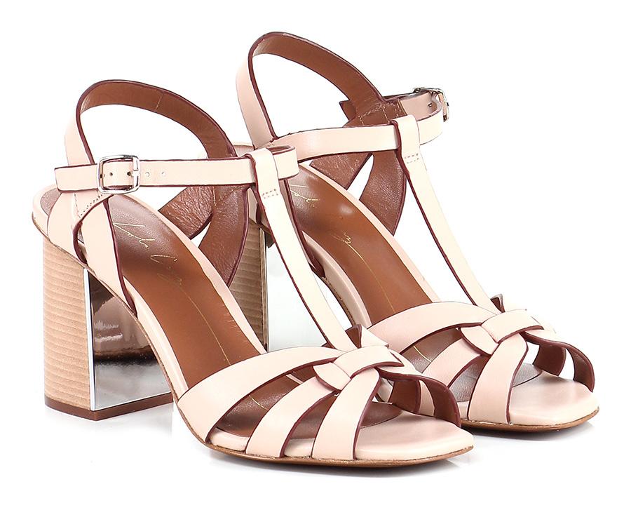 Sandalo alto Carne Lola Cruz Mode billige Schuhe