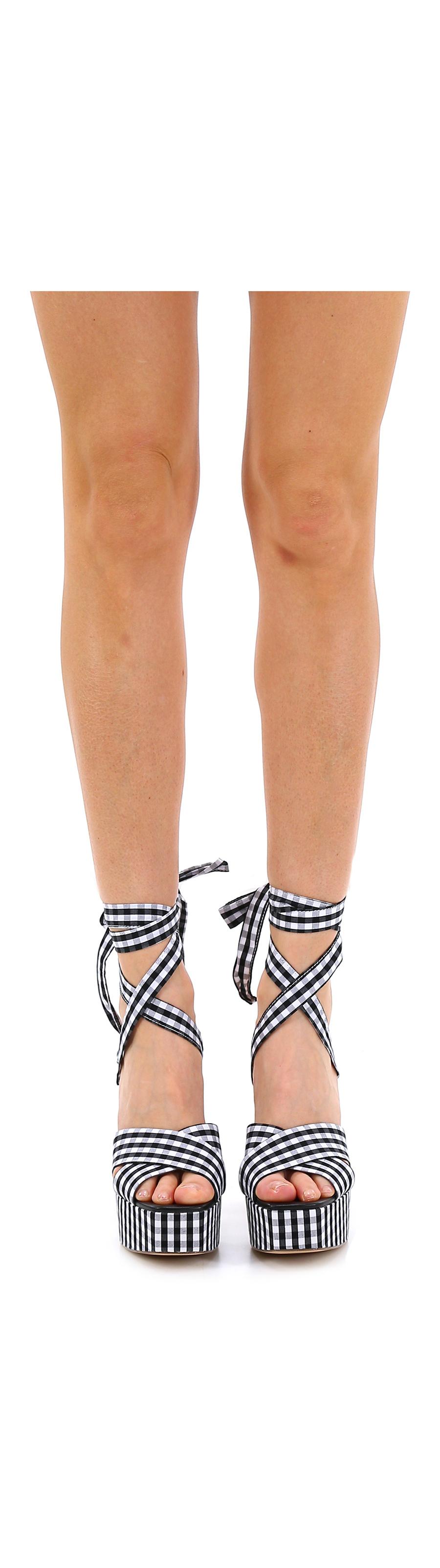 Sandalo alto  Twinset Bianco/nero Twinset  My Twin a7d6ba