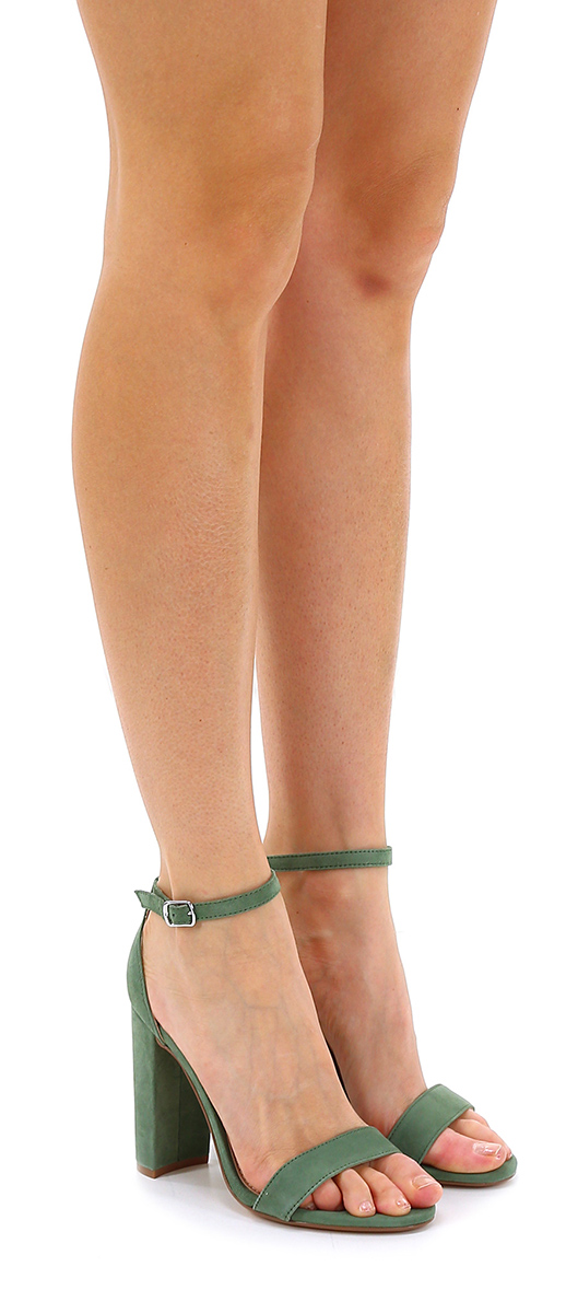 Sandalo alto Green Steve Madden Hohe Qualität