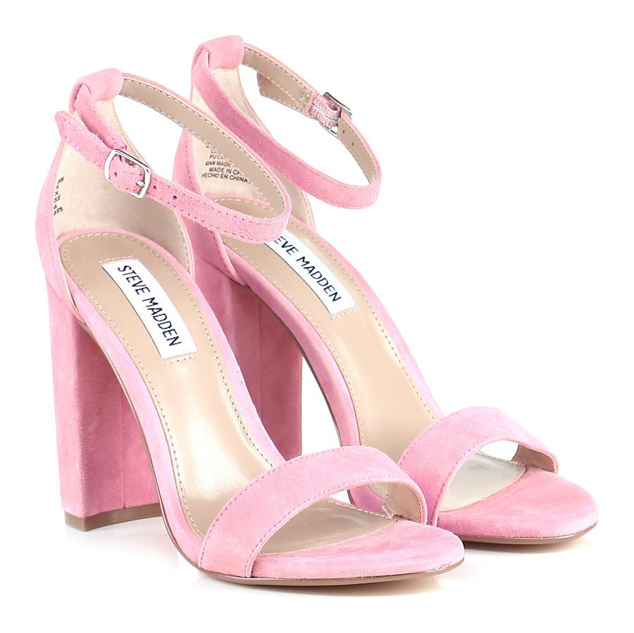 Sandalo alto Pink Steve Madden