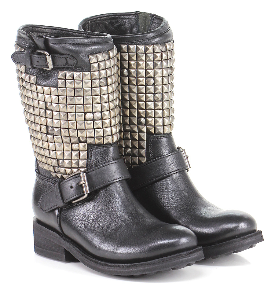 Tronchetto Black/nickel ASH Verschleißfeste billige Schuhe