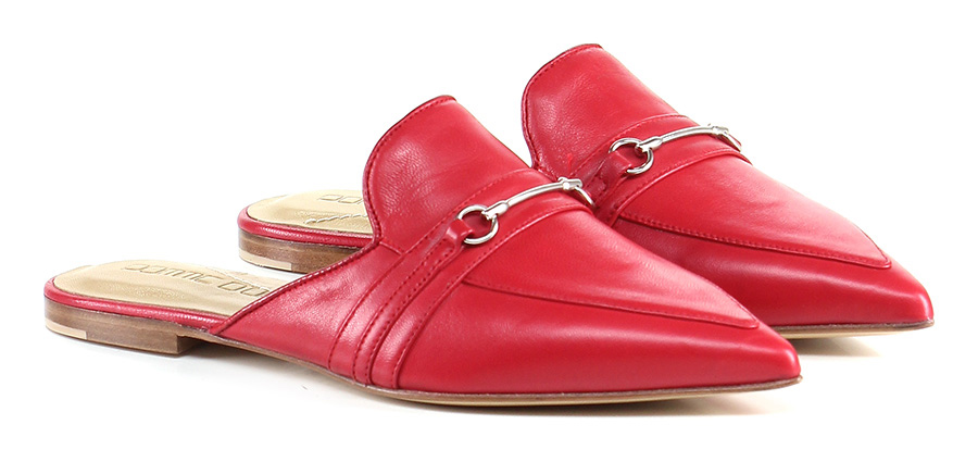 Scarpa bassa Rosso Pomme D'or