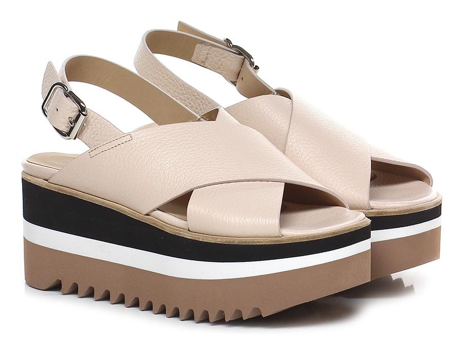 Zeppa Nude Laura Bellariva Verschleißfeste billige Schuhe