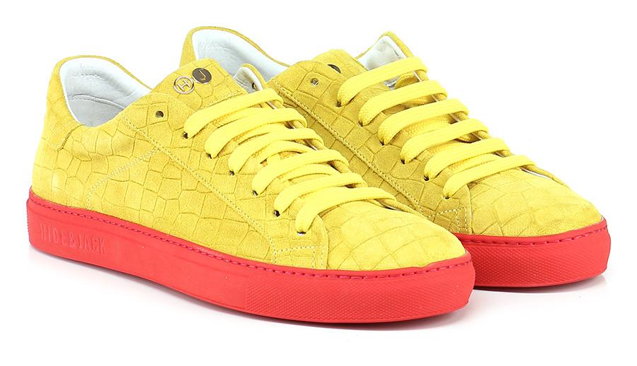 Sneaker Yellow/red Hide & Jack Scarpe economiche e buone
