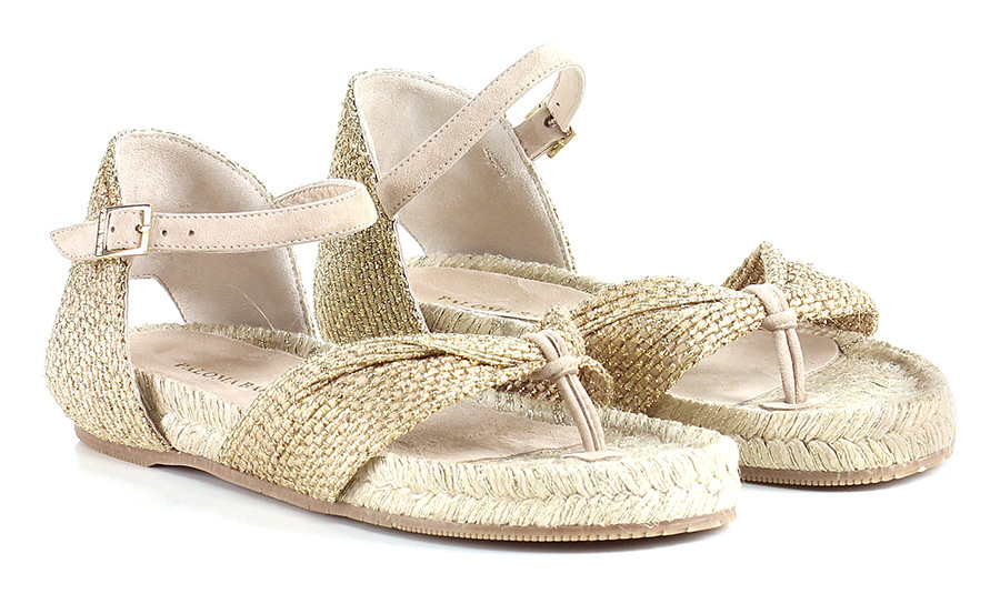 Sandalo basso Oro Paloma Barcelo' Mode billige Schuhe