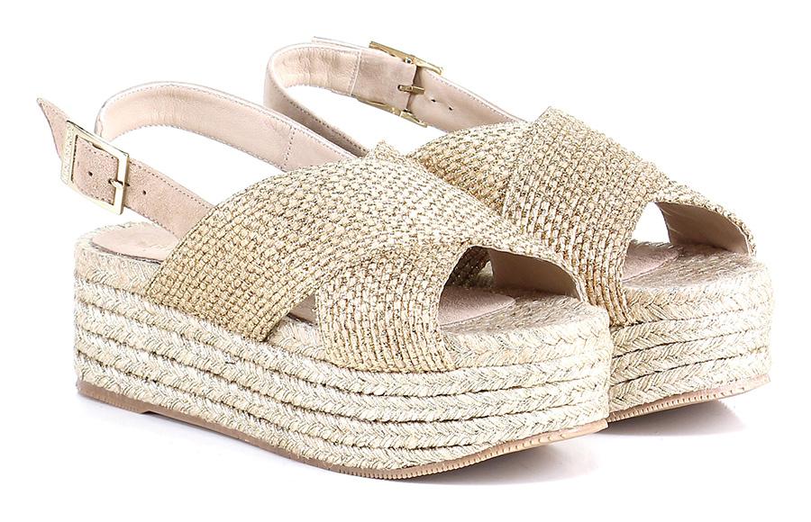 Zeppa Oro/tortora Oro/tortora Oro/tortora Paloma Barcelo' Mode billige Schuhe b362e6