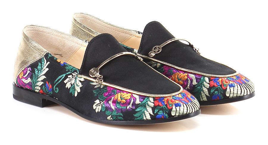 Scarpa bassa Nero/oro Fabi Verschleißfeste billige Schuhe