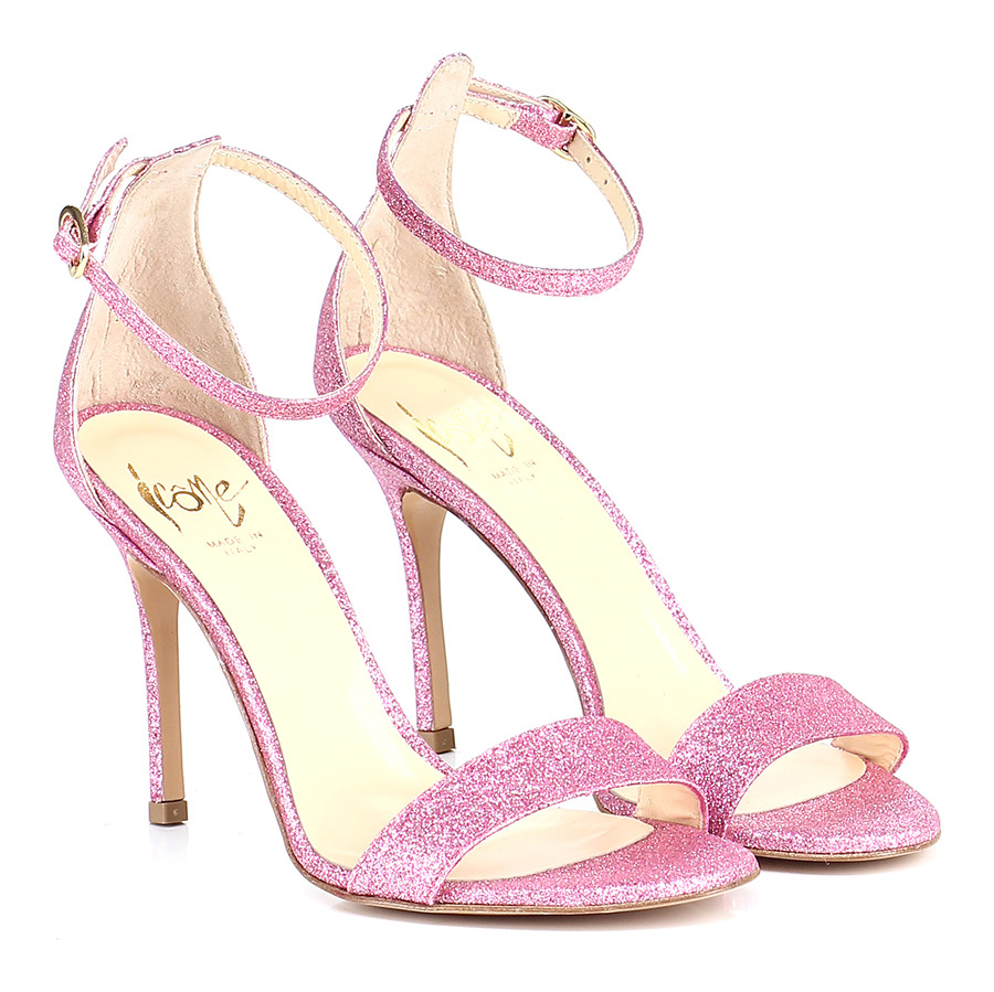 Sandalo alto Rosa Icone Verschleißfeste billige Schuhe
