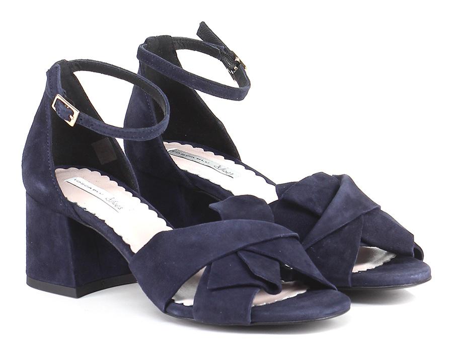 Sandalo alto Blu Tosca Blu Shoes