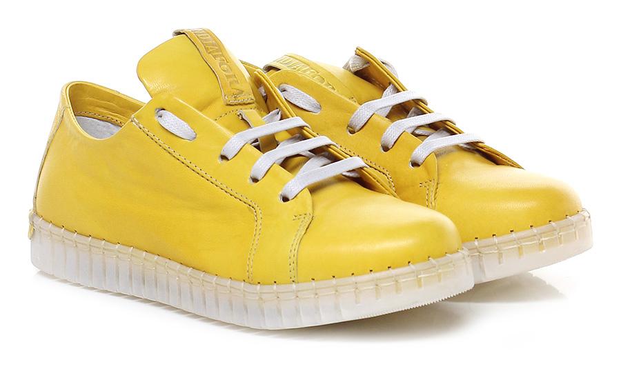 Sneaker Giallo Andia Andia Giallo Fora Verschleißfeste billige Schuhe 29858e
