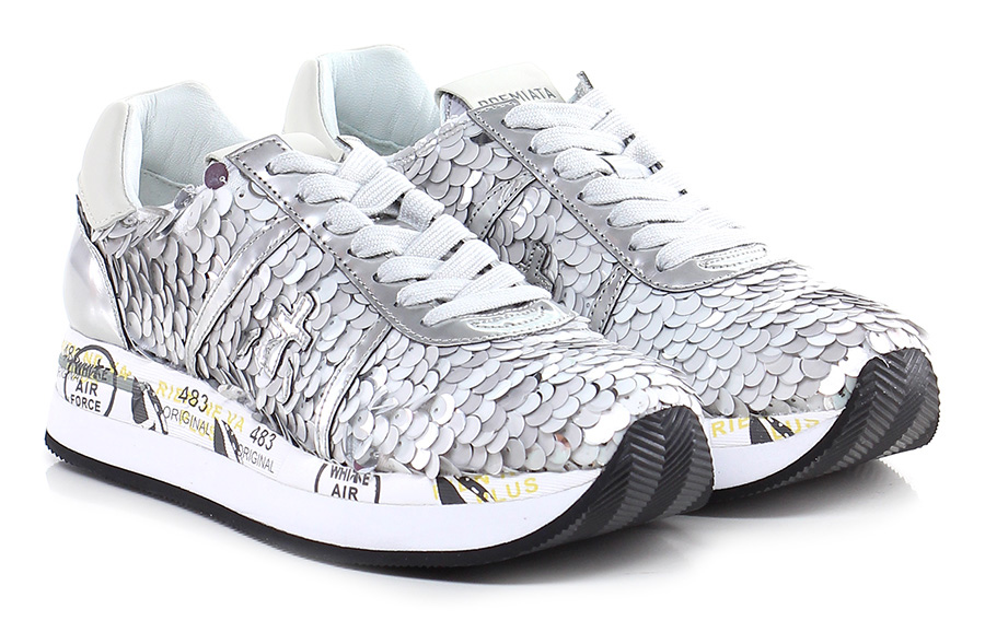 Sneaker 2969 multigrey Premiata Mode billige Schuhe