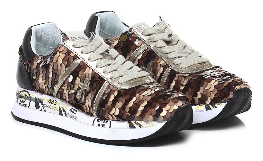 Sneaker 2968 brown/bronze Premiata Mode billige Schuhe