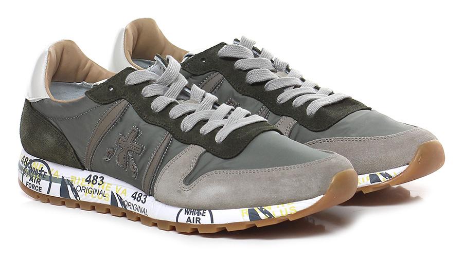 Sneaker 2814 military/taupe Premiata Verschleißfeste billige Schuhe