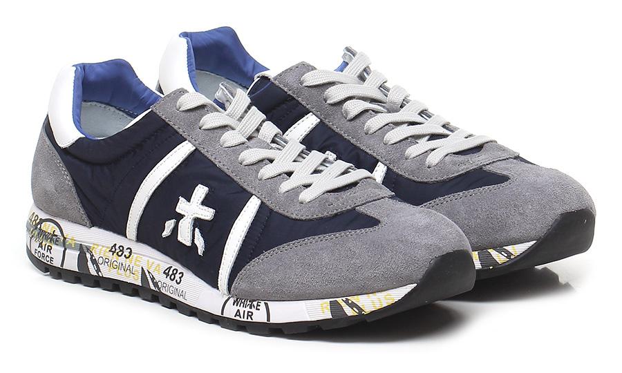 Sneaker 600e grey/navy Premiata Scarpe economiche e buone