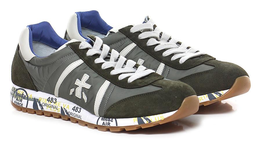Sneaker 3131 military/ivory Premiata Verschleißfeste billige Schuhe