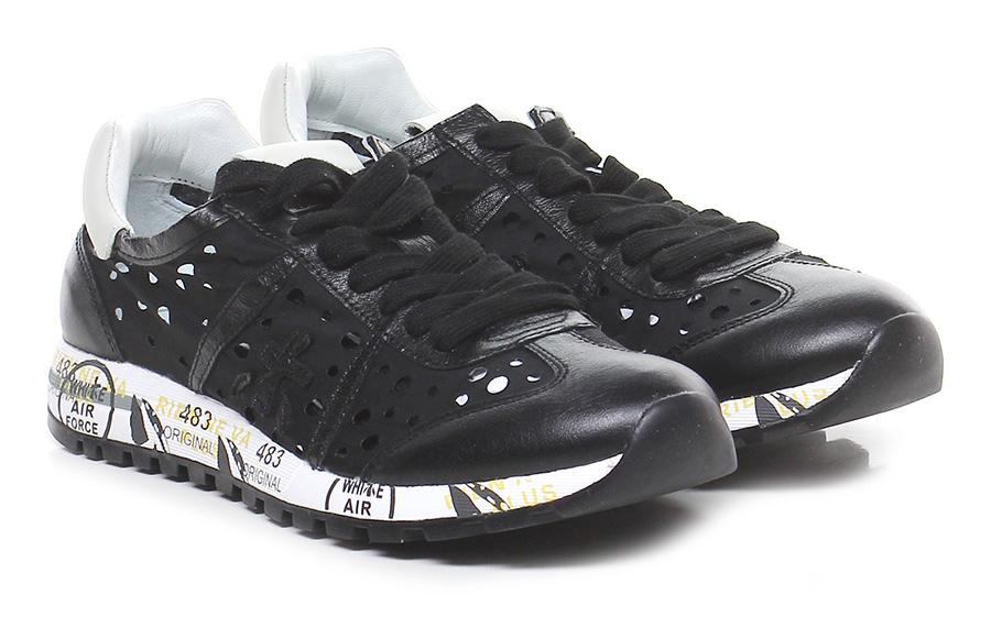 Sneaker 2949 black/ivory Premiata Verschleißfeste billige Schuhe