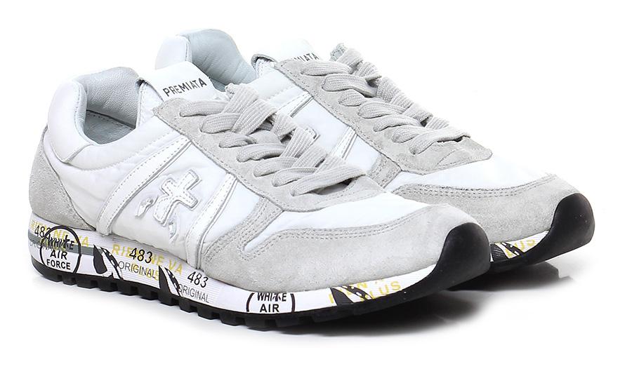Sneaker 3105 white/ice white/ice white/ice Premiata Mode billige Schuhe 48f839