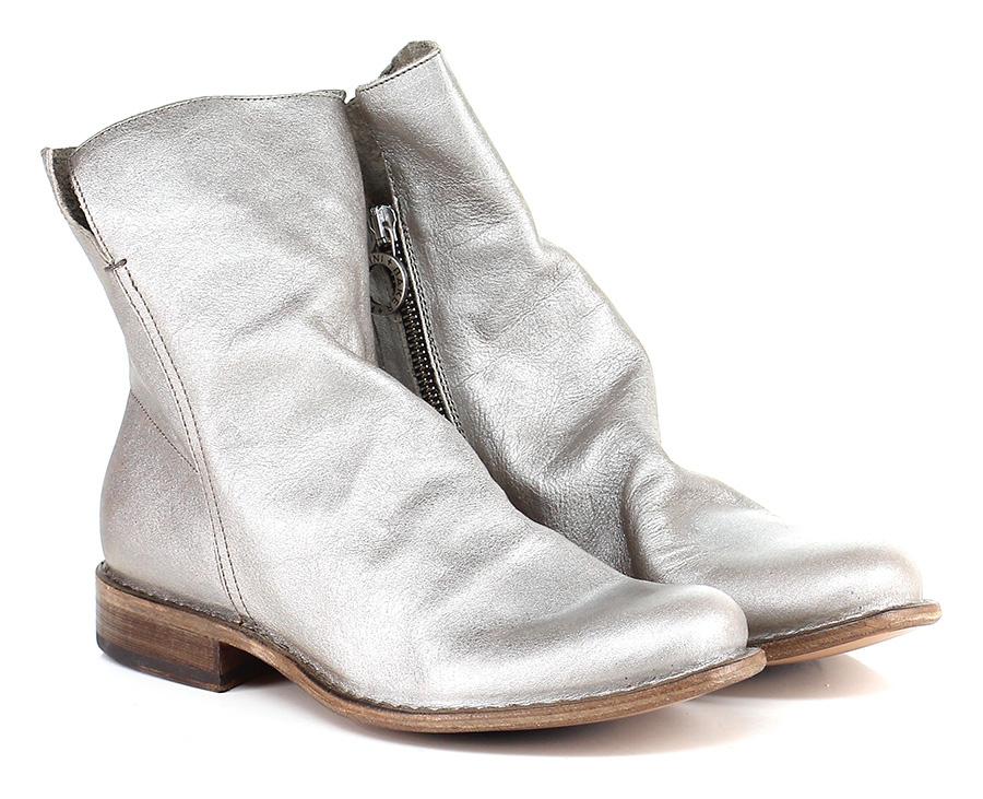 Tronchetto Argento Fiorentini Baker Mode billige Schuhe