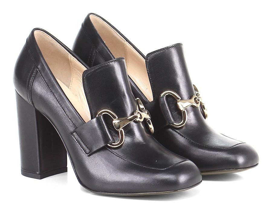 Scarpa con tacco Nero Couture distintive Scarpe comode e distintive Couture 744827