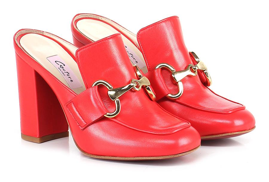 Scarpa Schuhe con tacco Rosso Couture Mode billige Schuhe Scarpa f602e8