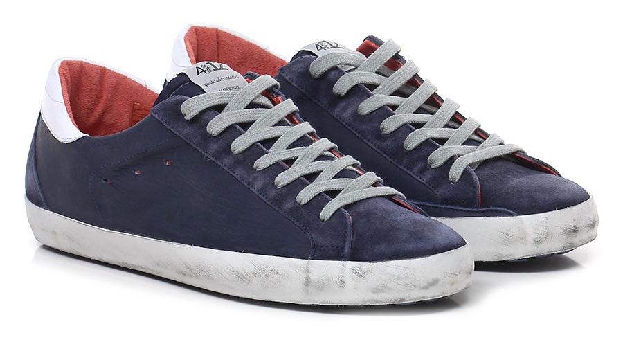 Sneaker Denim Quattrobarradodici Verschleißfeste billige Schuhe
