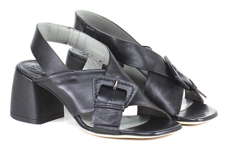 Sandalo alto  Nero billige Ixos Mode billige Nero Schuhe 43a400