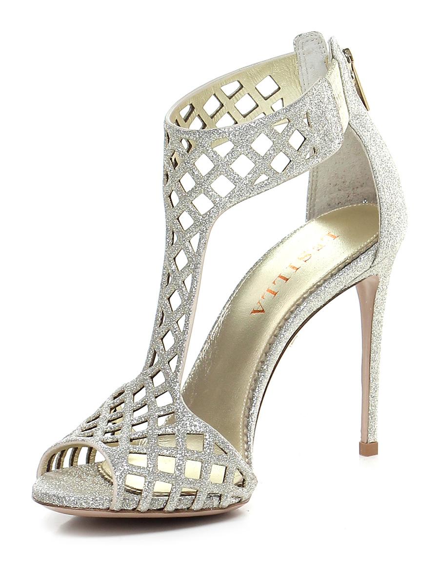 Sandalo alto Platino Platino Platino Le Silla 2ee462