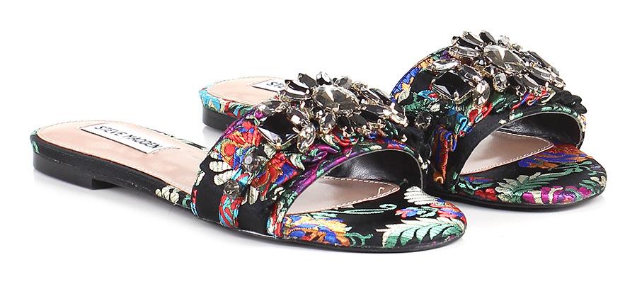 Sandalo basso Black/multicolor Steve Madden Hohe Qualität
