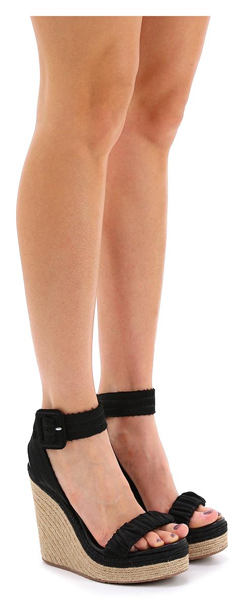 Zeppa Black/sand Pedro Garcia Verschleißfeste billige Schuhe
