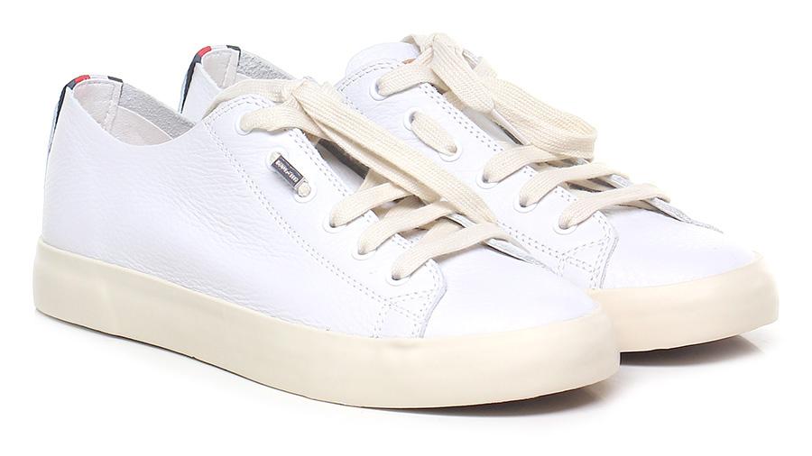 Sneaker White/cream Tommy Hilfiger Verschleißfeste billige Schuhe